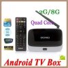 Android 4.2.2 Quad-core TV Box RK3188 A9 1.5GHz HDMI1.4 2G Ram with Wifi,Bluetooth